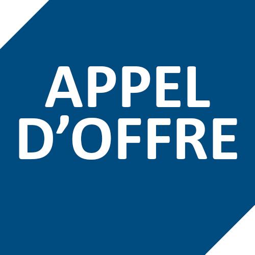APPEL D'OFFRE | LOT N°